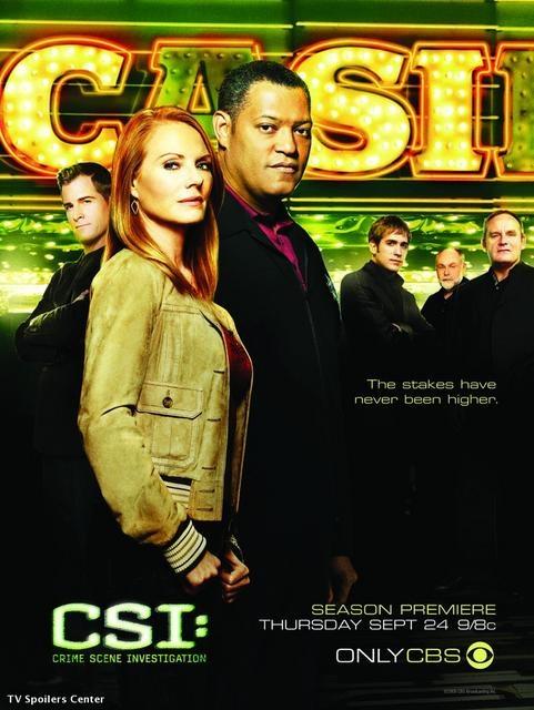 CSI S10 poster