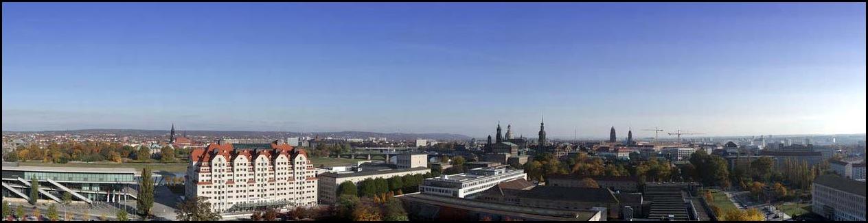 Dresden Panorama View