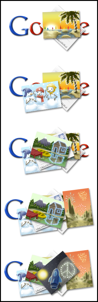 Google Holiday Logos 2009