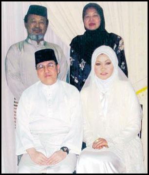 Sultan Kelantan dan Elia Suhana Ahmad