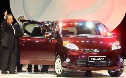TPM lancar Perodua MPV Alza (the sun daily)