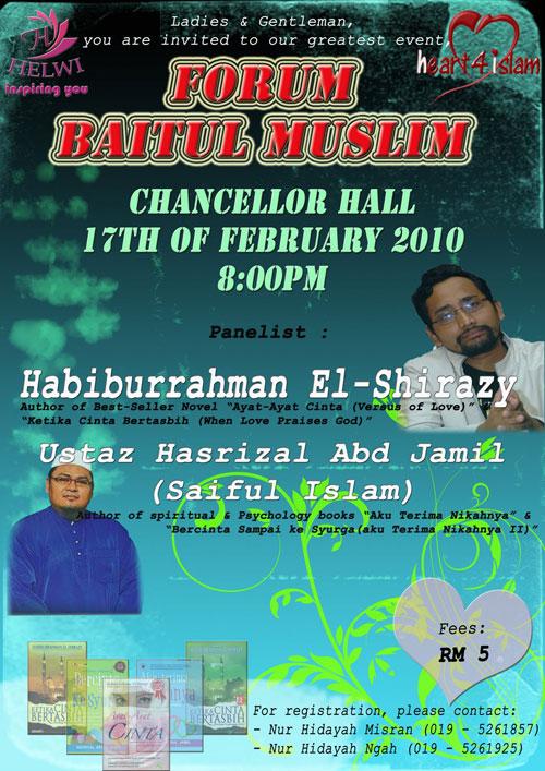 Forum Baitul Muslim UTP