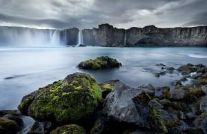 island-waterfall