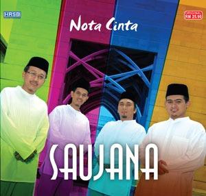 album nota cinta saujana
