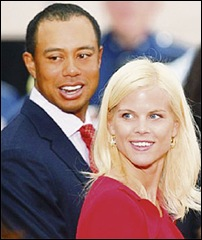 tiger wood and wife